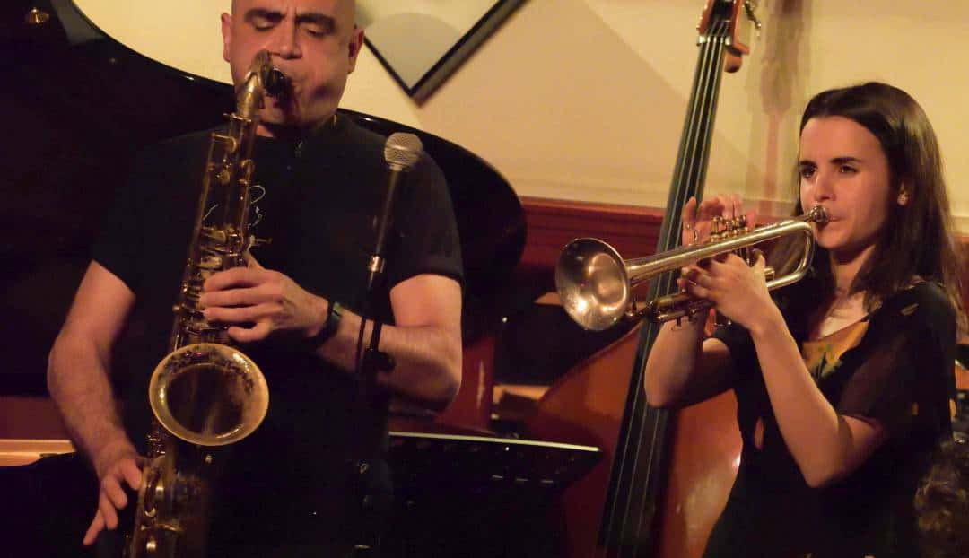 El Rincón del Jazz con Andrea Motis y Joan Chamorro cuelga el cartel de no hay entradas