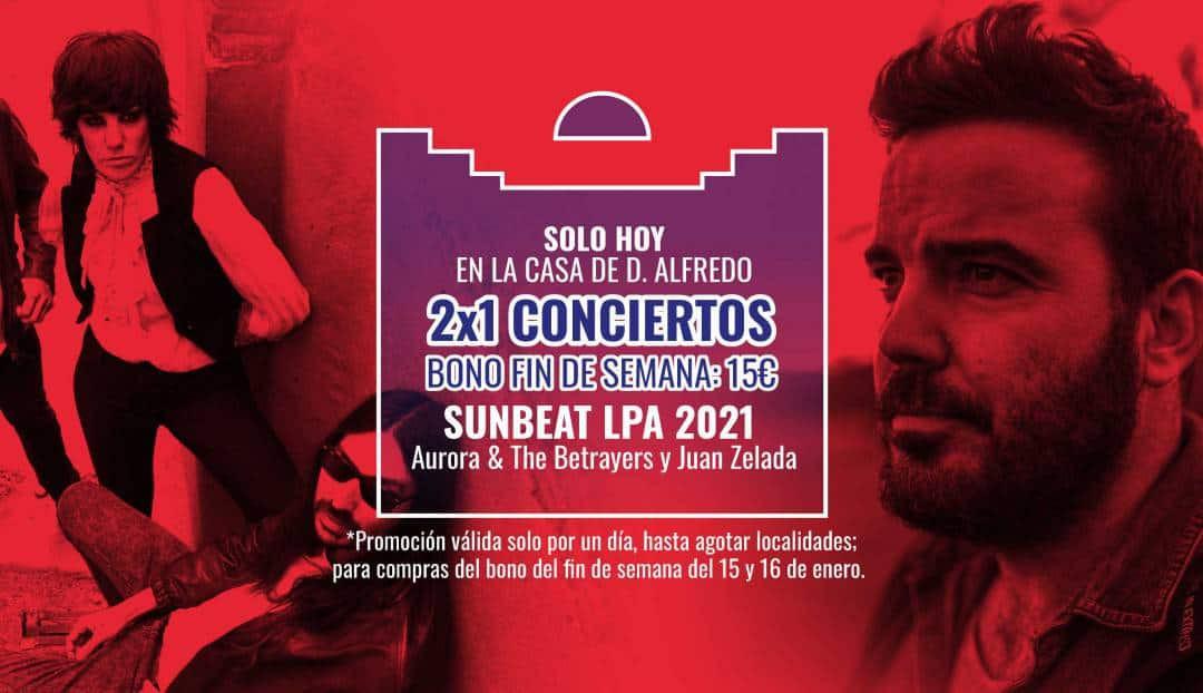 Oferta Bono 2x1 para el Sunbeat LPA 2021
