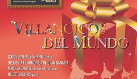 Vuelve 'Villancicos del mundo' al Auditorio Alfredo Kraus a beneficio de la Casa de Galicia