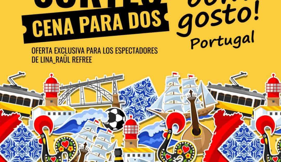 El restaurante Bom Gosto, con la música portuguesa
