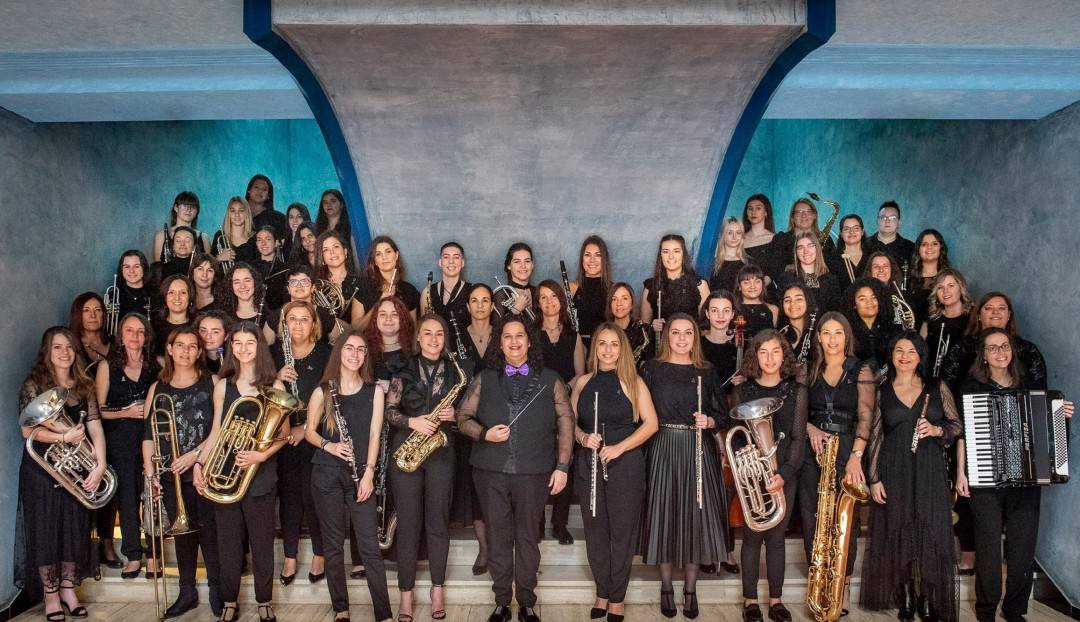 La Gran Canaria's Women Band canta a la vida