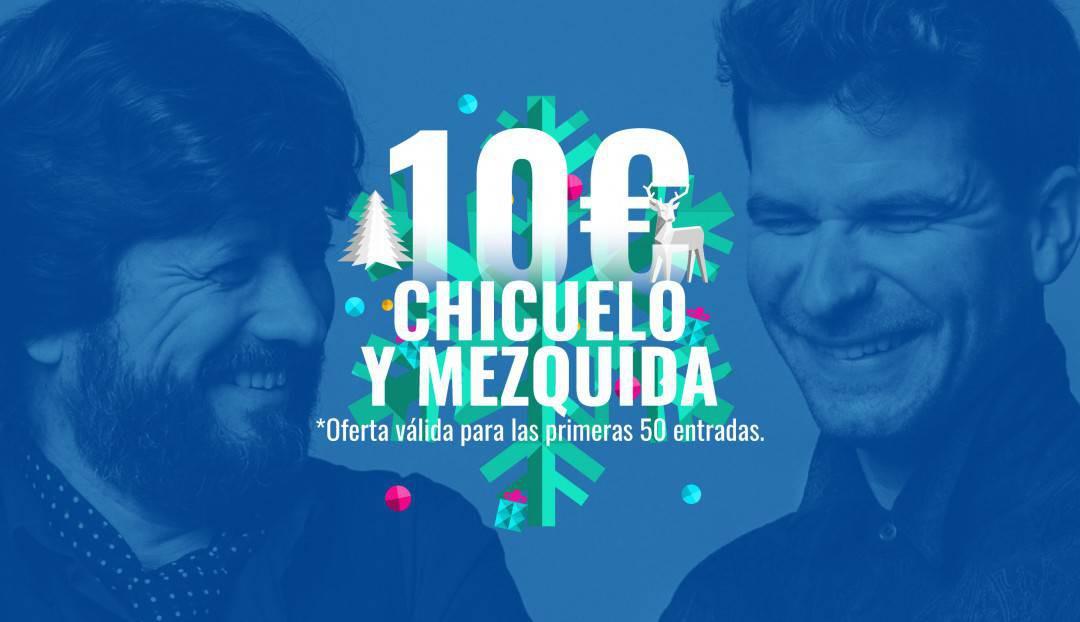 Imagen noticia - Nuestra oferta navideña de hoy: las 50 primeras entradas para el concierto de Chicuelo y Mezquida a 10 euros