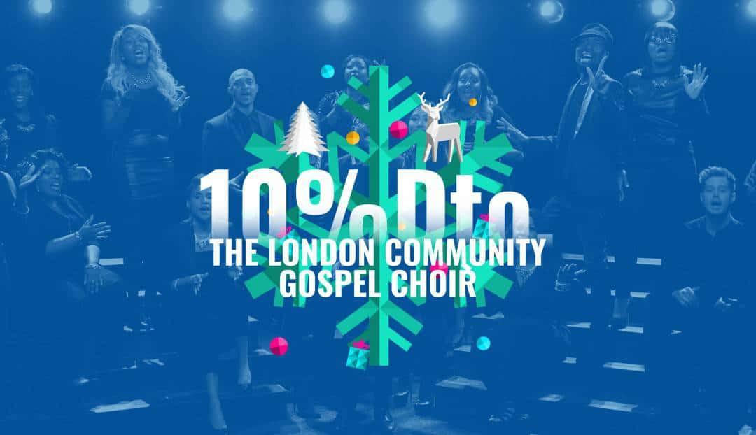 El Gospel vuelve por Navidad. Compra tu entrada con un 10% de descuento
