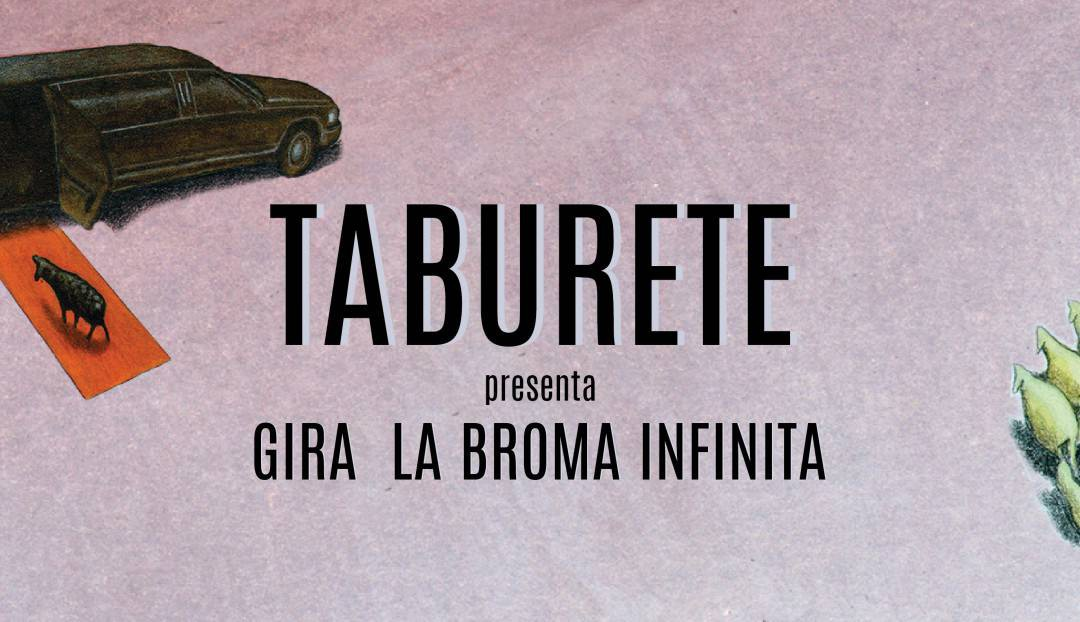 Lo nuevo de Taburete, el 28 de marzo en el Auditorio