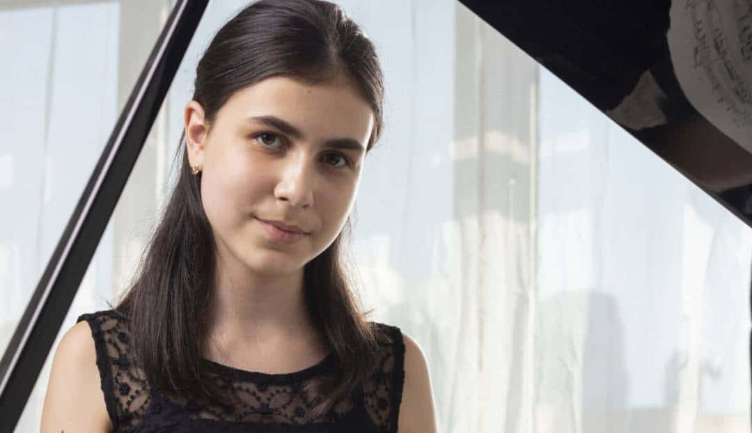 Alexandra Dovgan, la pianista que asombra al mundo