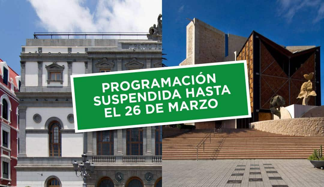 El Auditorio Alfredo Kraus y el Teatro Pérez Galdós anuncian la suspensión de espectáculos hasta el 26 de marzo.