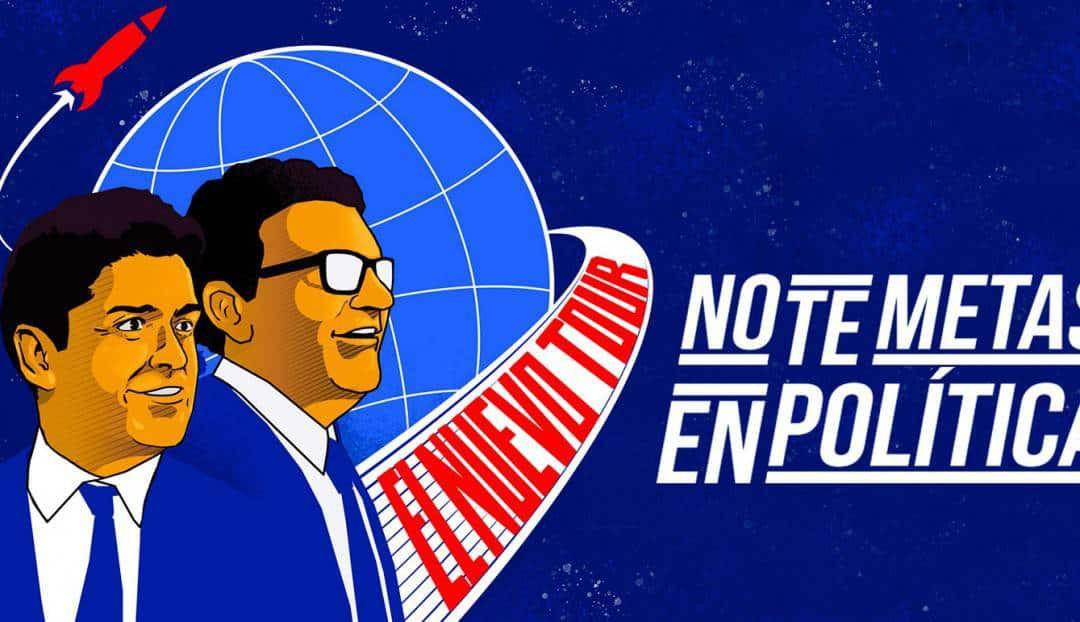 No te metas en política con Miguel Maldonado y Facu Díaz
