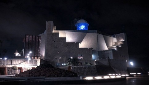 El Auditorio se tiñe de azul por la diabetes