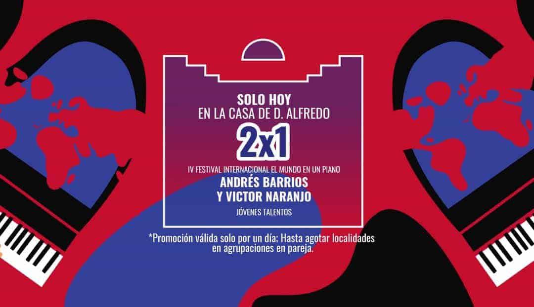 Imagen noticia - Festival de piano: oferta 2x1 para el concierto de Jóvenes Talentos
