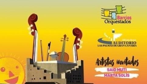 Los chicos de Barrios Orquestados vuelven al Auditorio Alfredo Kraus para celebrar su concierto de final de temporada