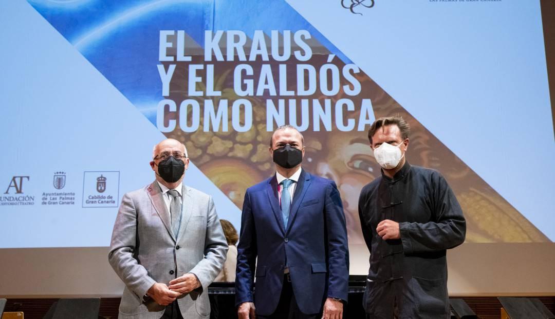 Imagen noticia - El Auditorio Alfredo Kraus y el Teatro Pérez Galdós presentaron su nueva programación con una oferta cultural 'como nunca'