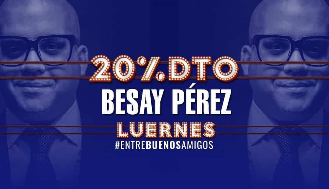 Besay Pérez, una de las grandes voces de Canarias