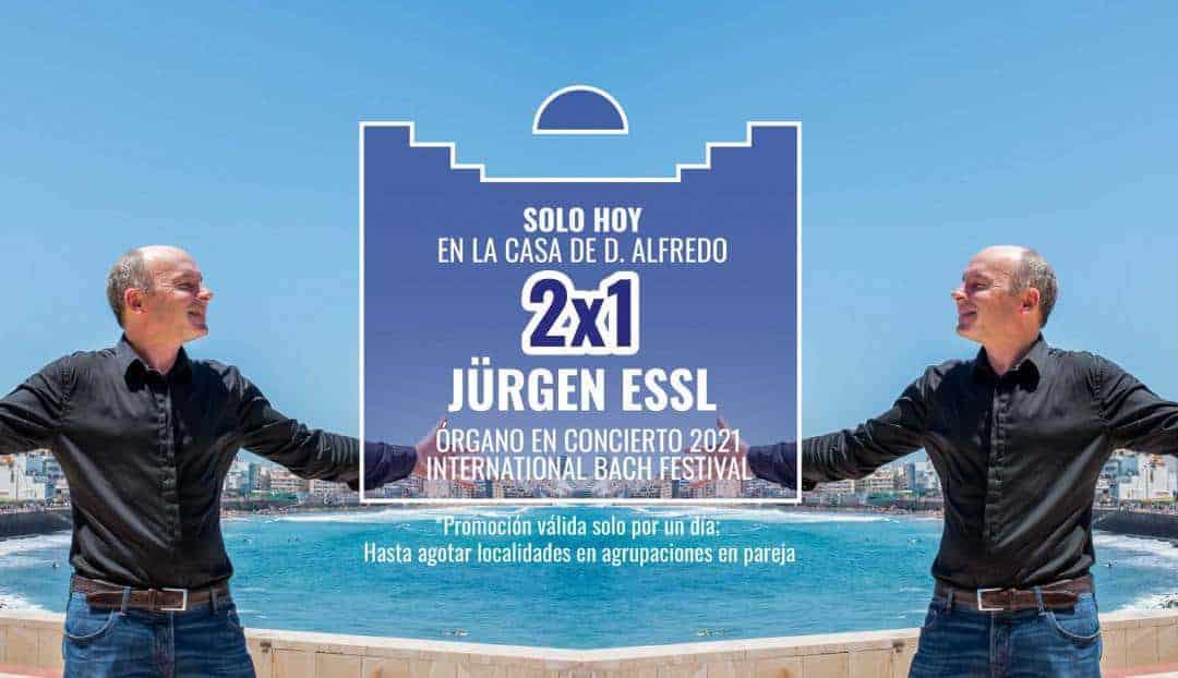 Hoy, promoción 2x1 para el concierto de Jürgen Essl