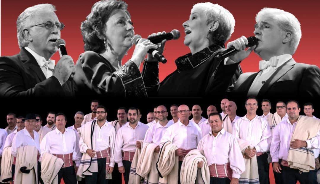 Los Sabandeños y El Consorcio, juntos por primera vez en concierto