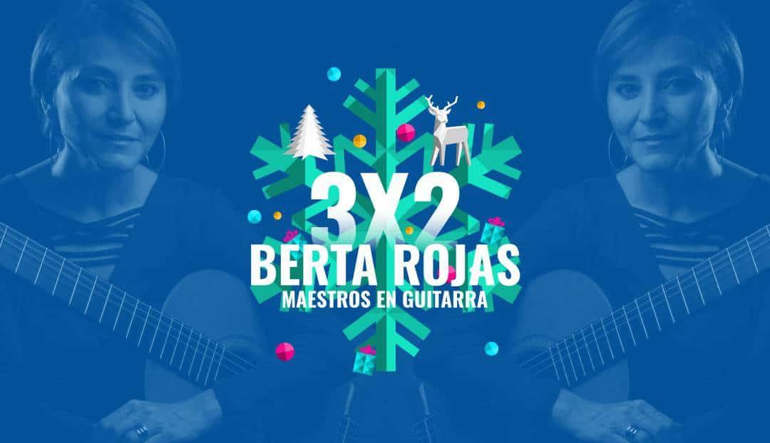 Berta Rojas es una de las mejores guitarristas del mundo. Hoy al mejor precio.