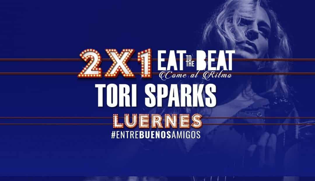 Imagen noticia - El mejor rock con una oferta inigualable: compra dos entradas para Tori Sparks y paga solo una