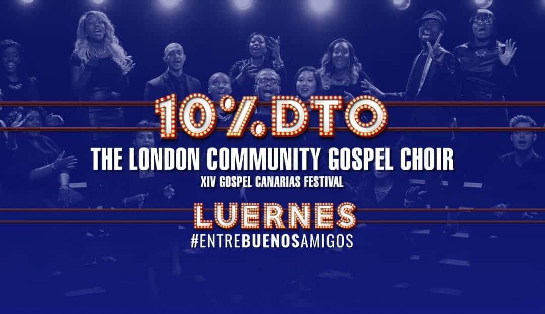 Imagen noticia - El Gospel vuelve en diciembre. Compra tu entrada con un 10% de descuento
